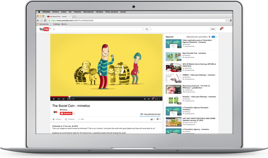 Video explicativo animado para empresas