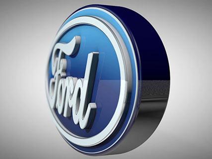 ford covesa logotipo animado 3d animated fly logo