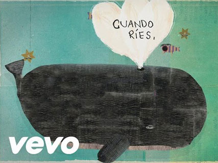 lyric video detrás del mar natalia lafourcade